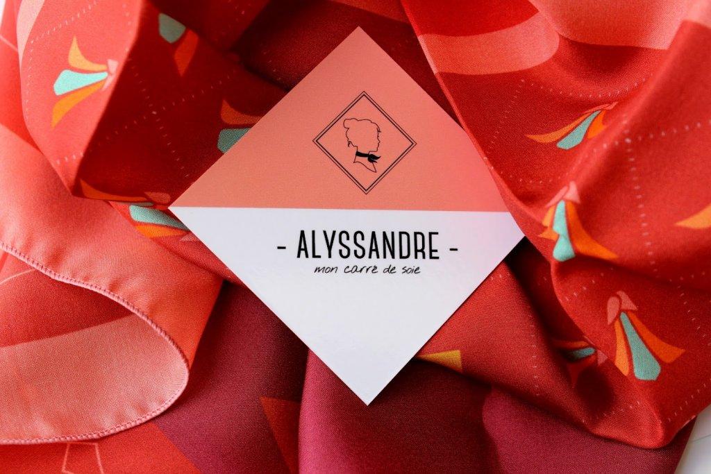 Alyssandre - mon carré de soie
