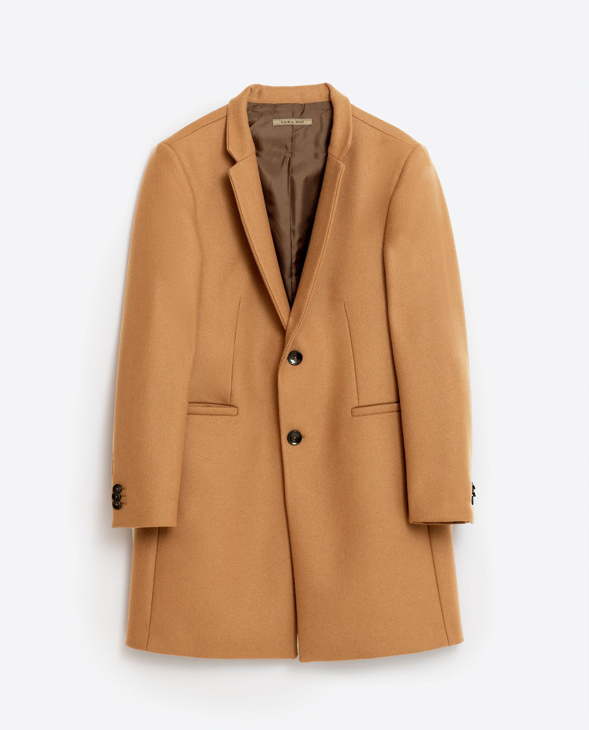 Manteau Camel Zara