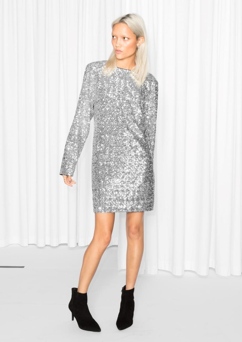 sequin dress blog mode