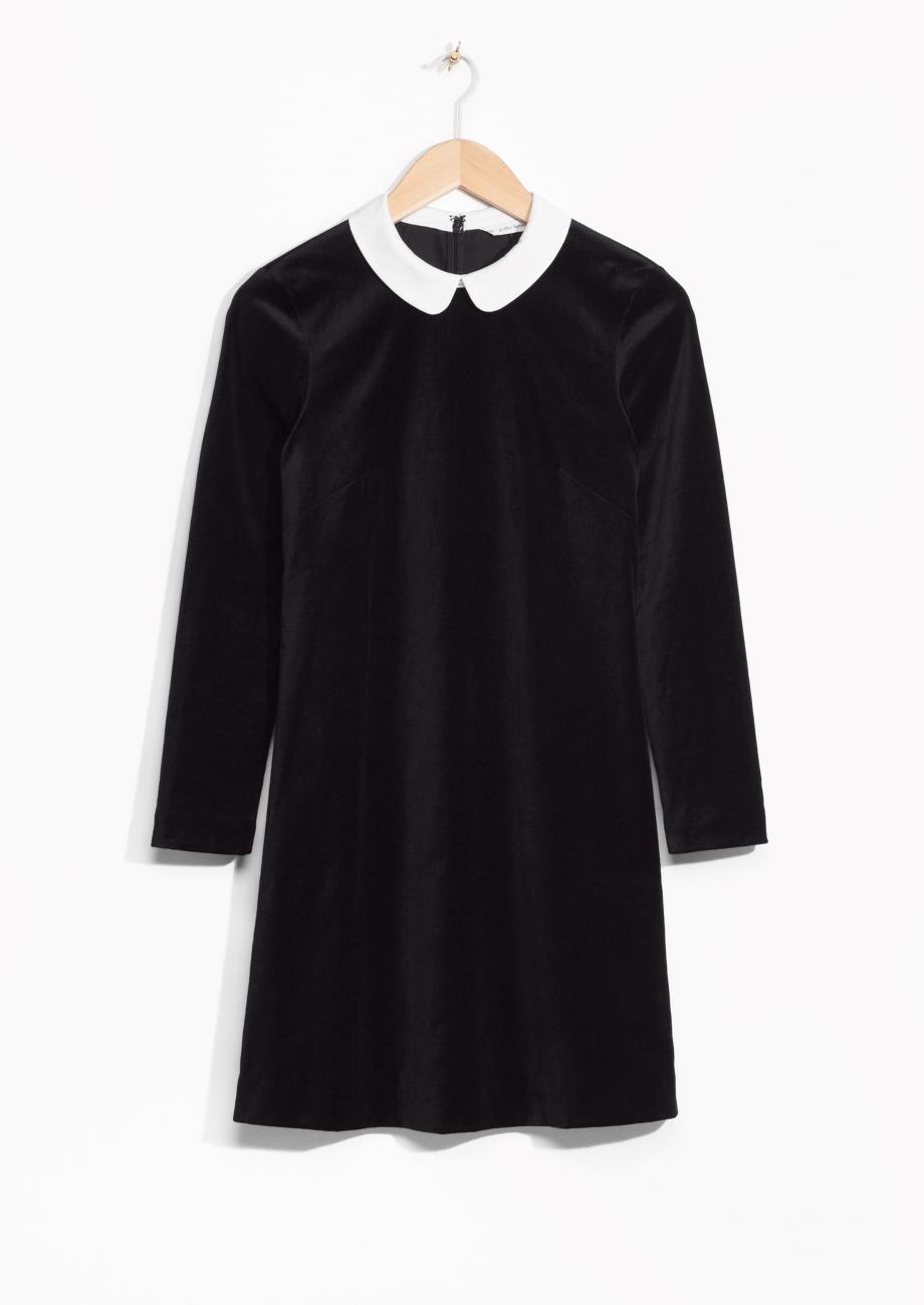 twiggy velvet dress blog mode