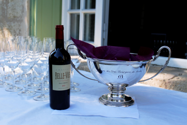 Repas de vendanges au Château Bellevue