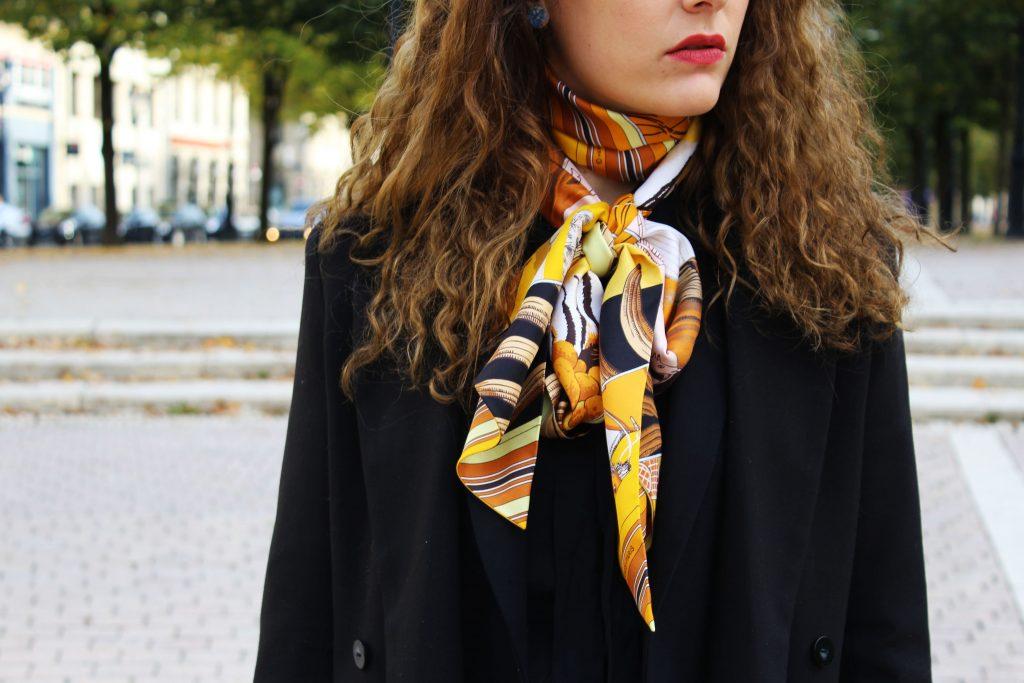 Carré Twilly Hermès - Sac Gérard Darel