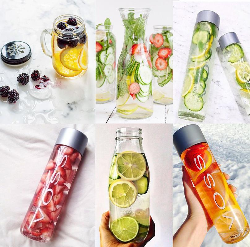 DETOX WATER - eau vitaminée minceur
