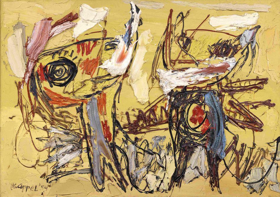 Karel Appel l'art est une fête exposition musée art moderne Paris