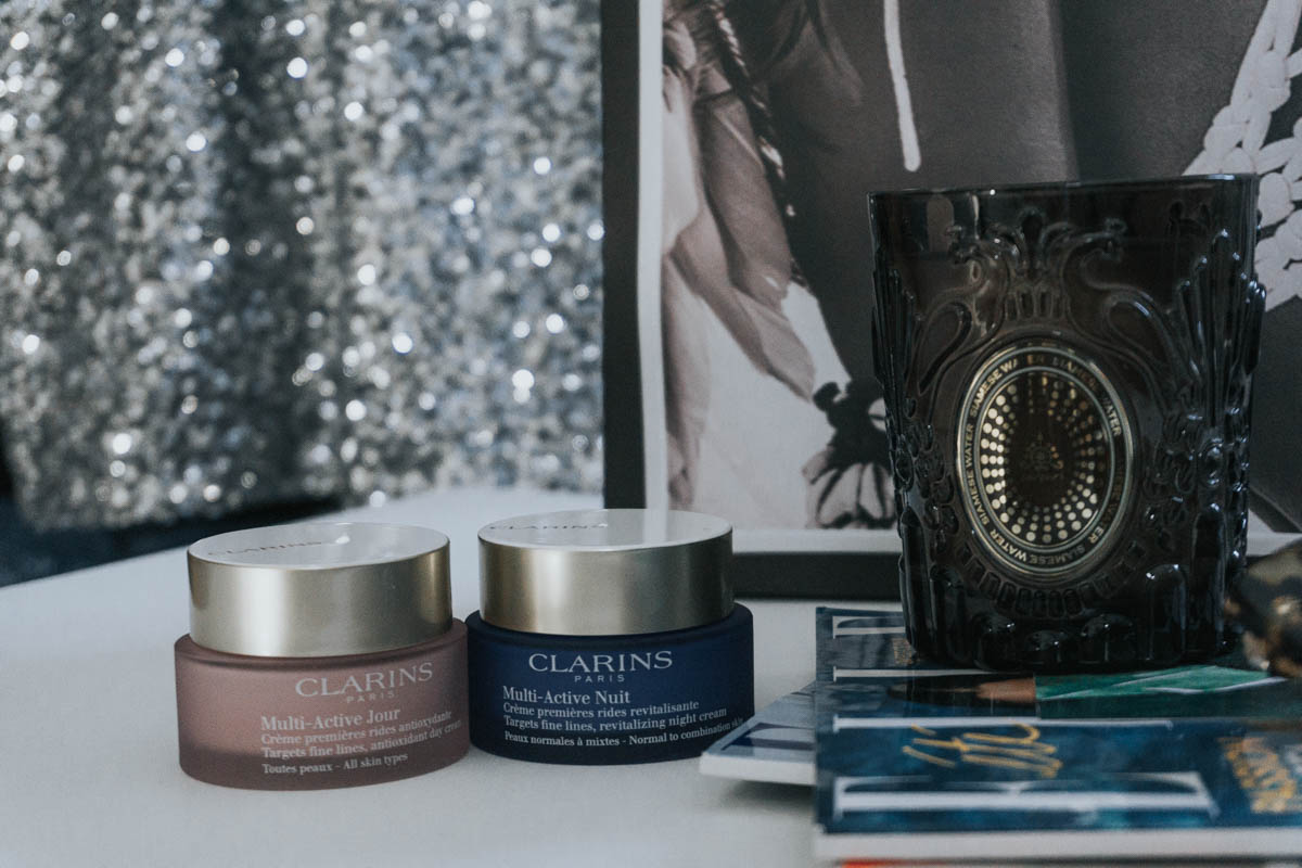 Routine multi-active Clarins blog mode bordeaux paris