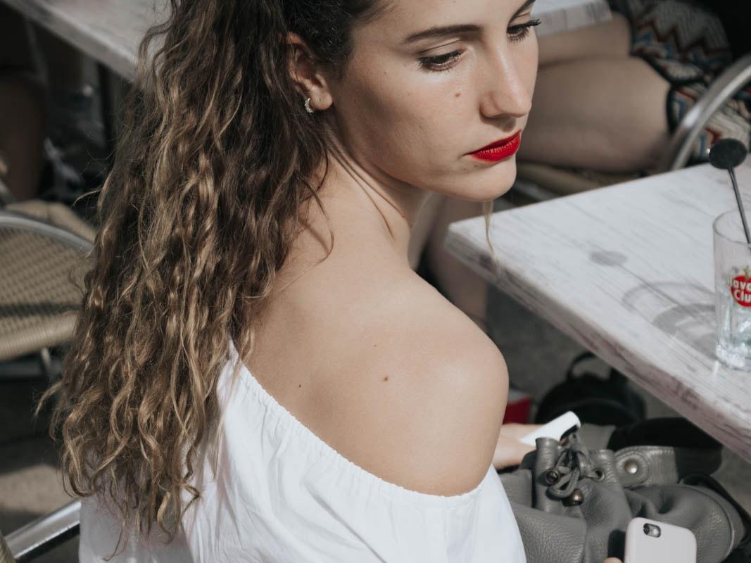 Top épaules dénudées tom sailor blog mode bordeaux paris