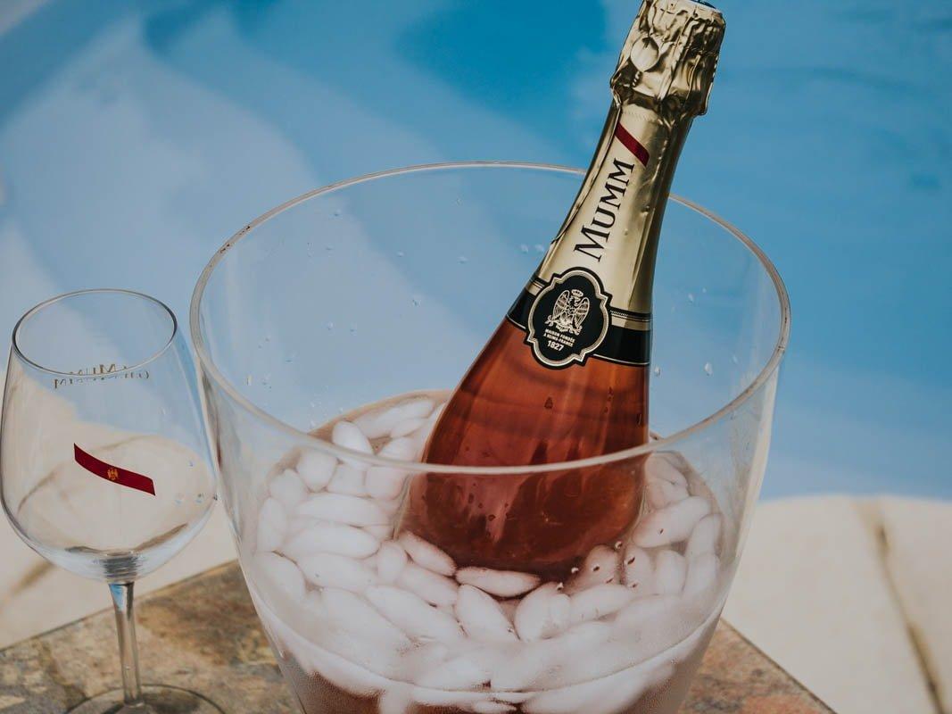 Champagne Mumm Rosé blog mode bordeaux