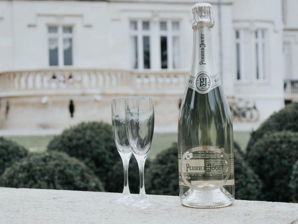 Perrier jouët champagne blanc de blancs chardonnay