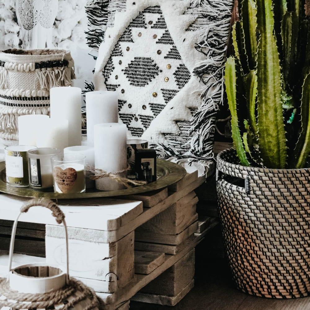haul d coration diy coin cocooning en palettes. Black Bedroom Furniture Sets. Home Design Ideas