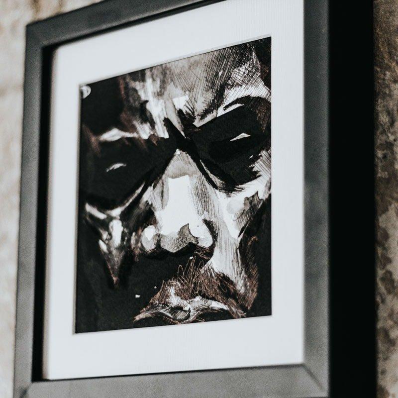 DEUZ ARTISTE GRAFF STREET ART TRONCHE