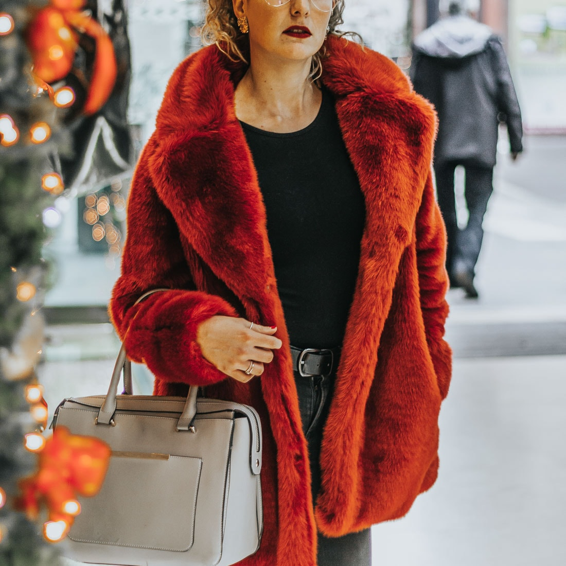 manteau rouge,h&m, pinterest,blog mode, lookbook
