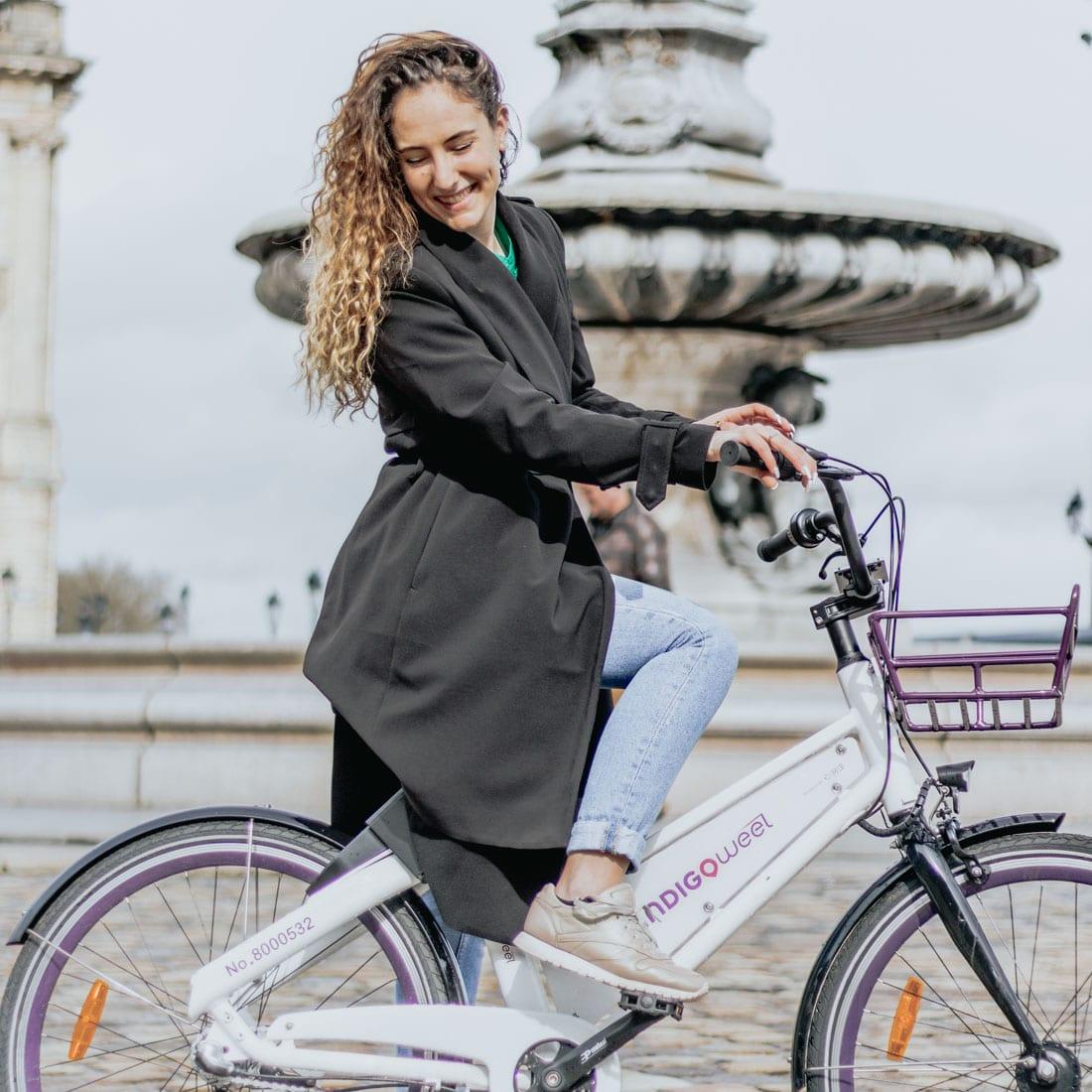 vélo, Bordeaux, indigo weel, écologique, blog