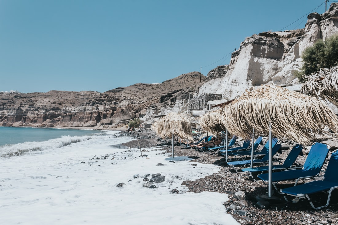 Akro Beach, Akrotiri , Santorini, Greece, blog, travel