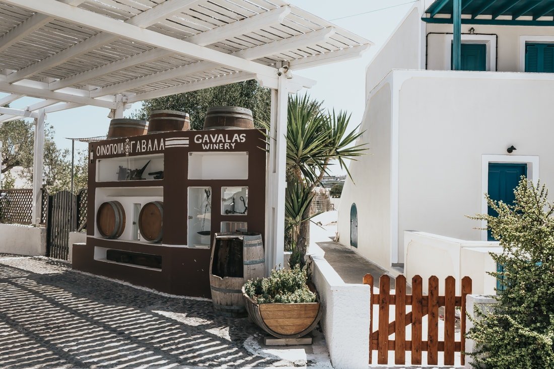 Gavalas Winery, Santorini, Greece, blog, travel