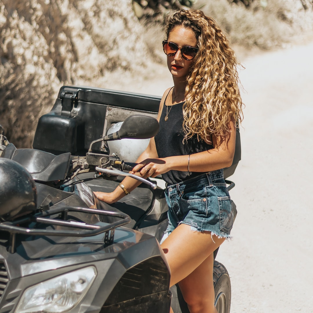 quad bikes, Santorini, Greece, blog, travel