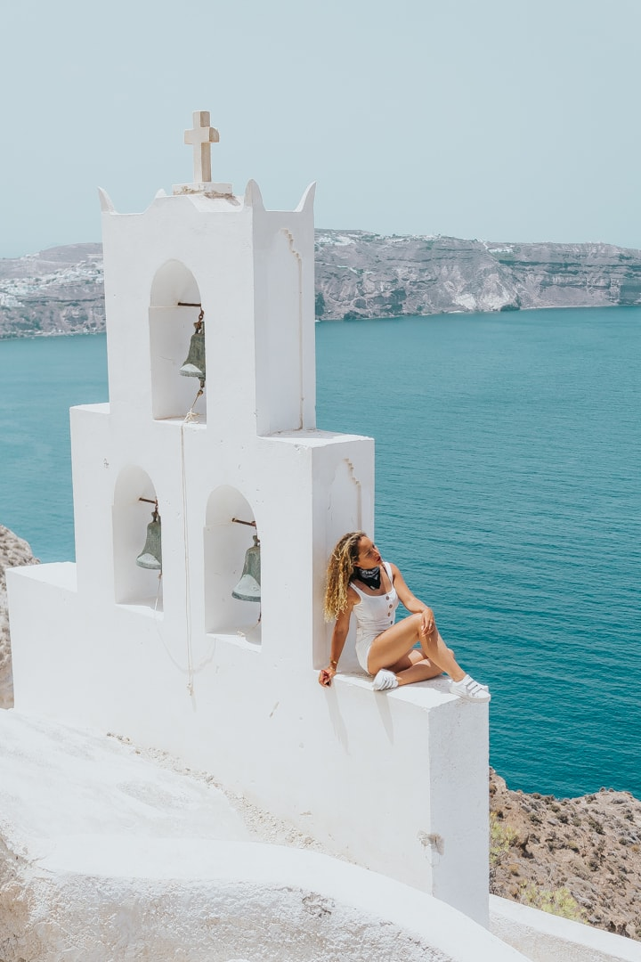Santorini, greece, travel, blog, view