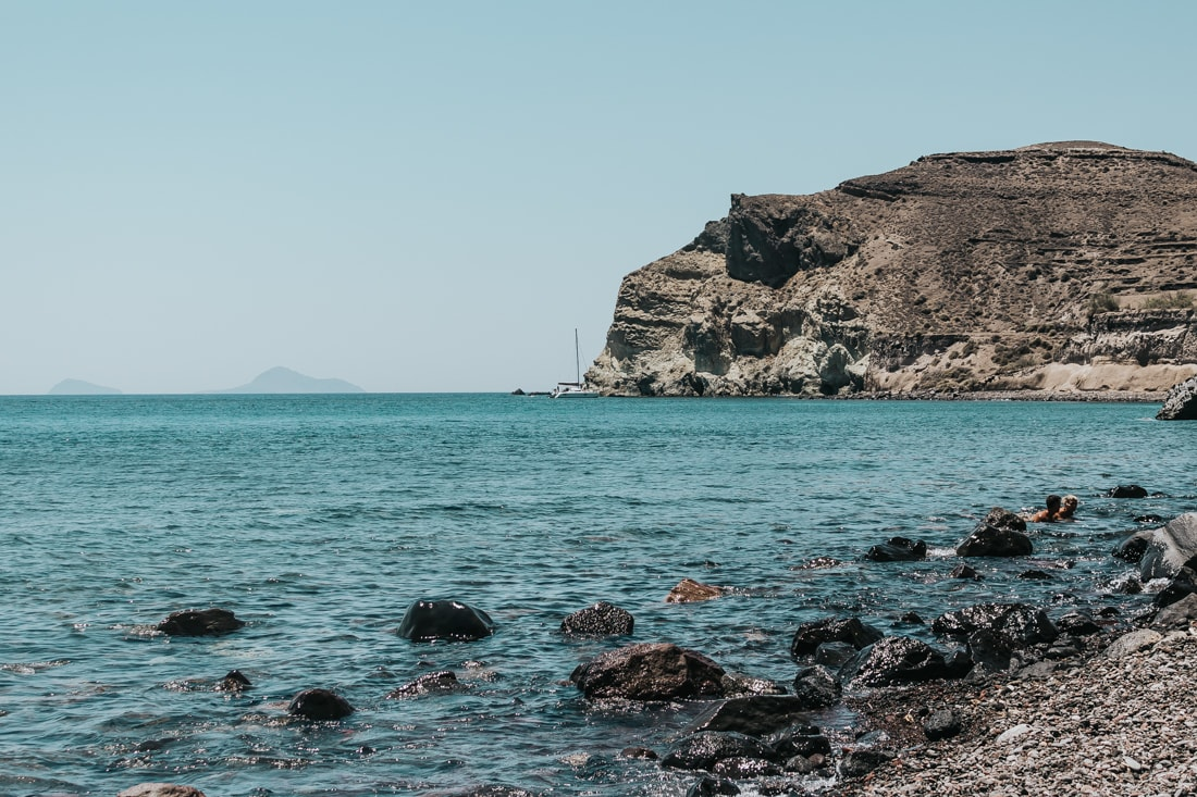 red beach, Santorini, Greece, blog, travel
