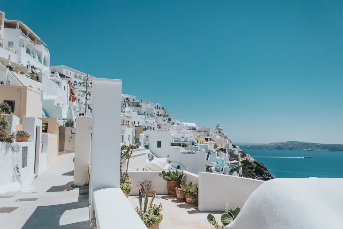fira, oia, santorini, greece, travel, blog