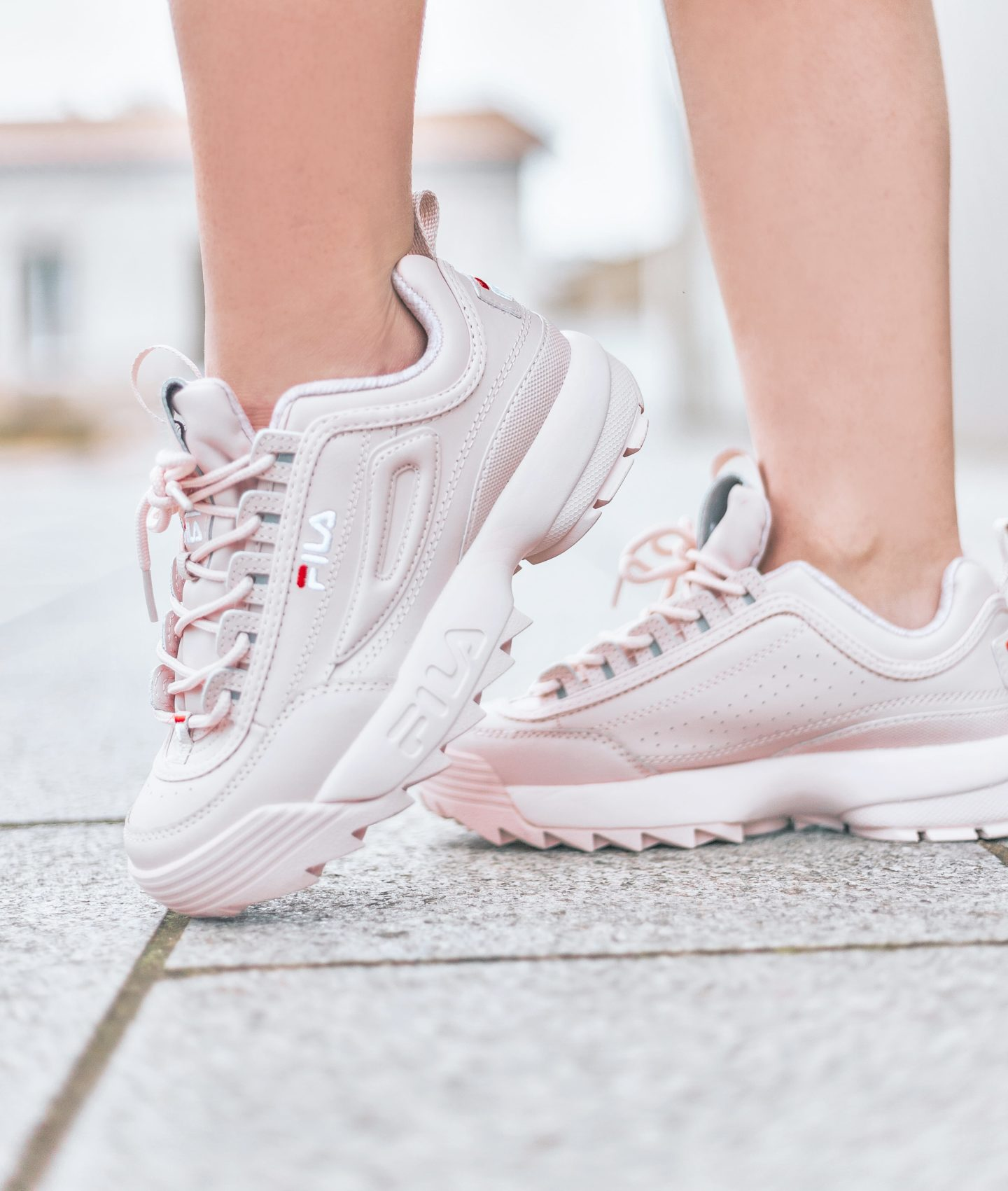 FILA DISRUPTOR 2 ROSE - BLOG MODE - UGLY SNEAKERS