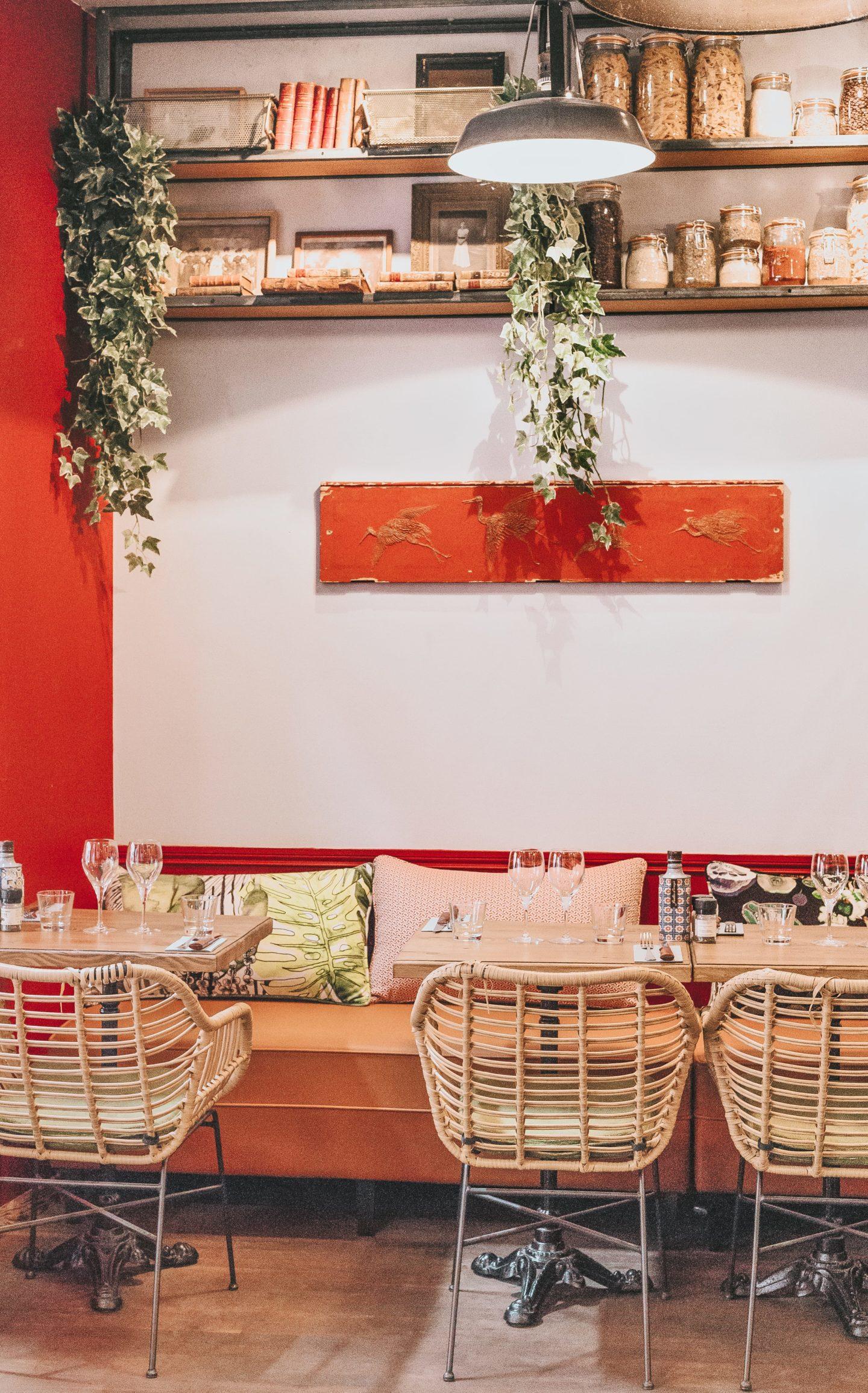 Décoration, salle, Valentina, Clan des Mamma, Toulouse, restaurant.