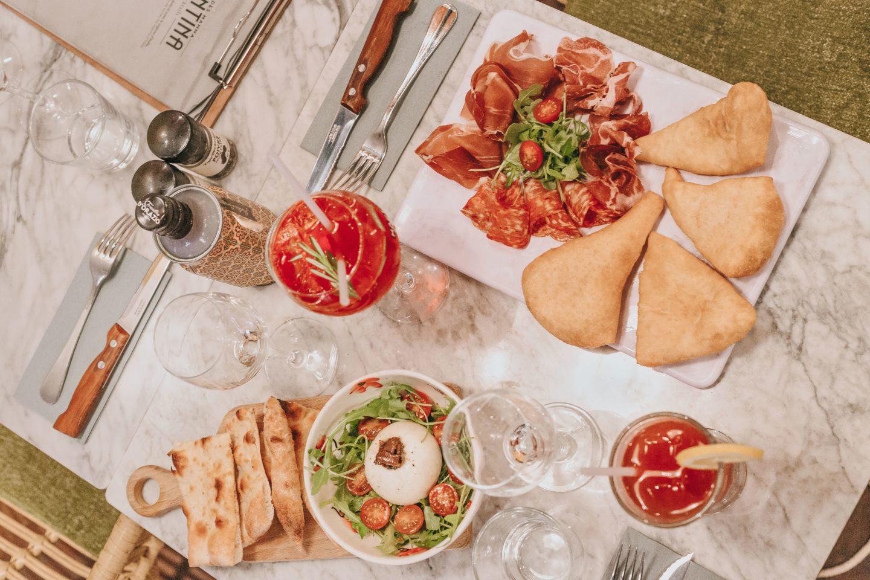 plats, Valentina, Clan des Mamma, Toulouse, restaurant italien.