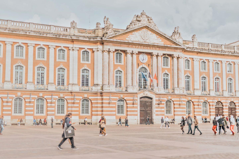 Place du Capitole, Toulouse.