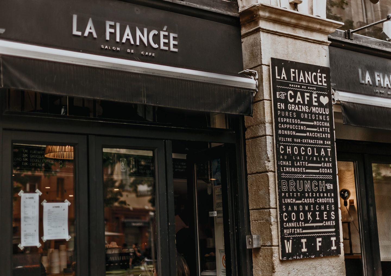 la fiancée, devanture, Toulouse, food, blog.