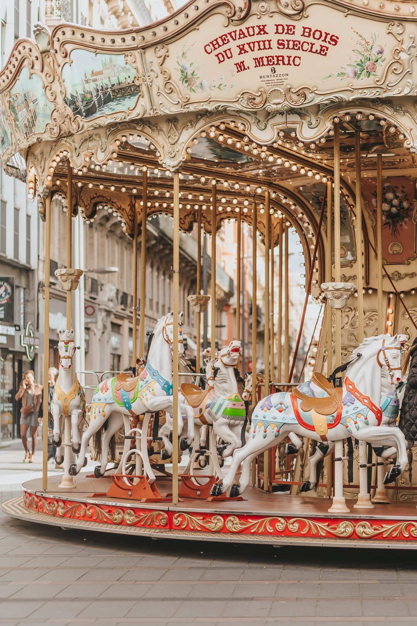 Carrousel, Toulouse, blog.