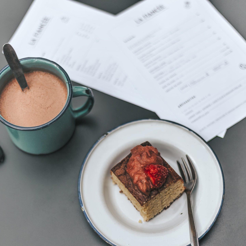 la fiancée, Toulouse, financier, chocolat chaud, salon de thé.