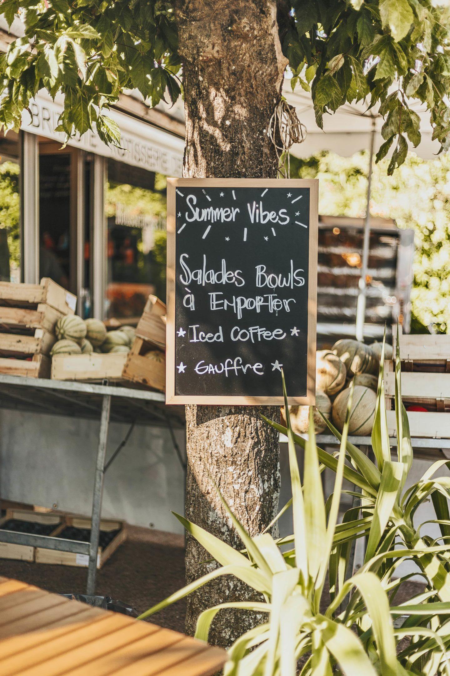 CAFÉ, Bali Bowls, CAP FERRET, EXTÉRIEUR