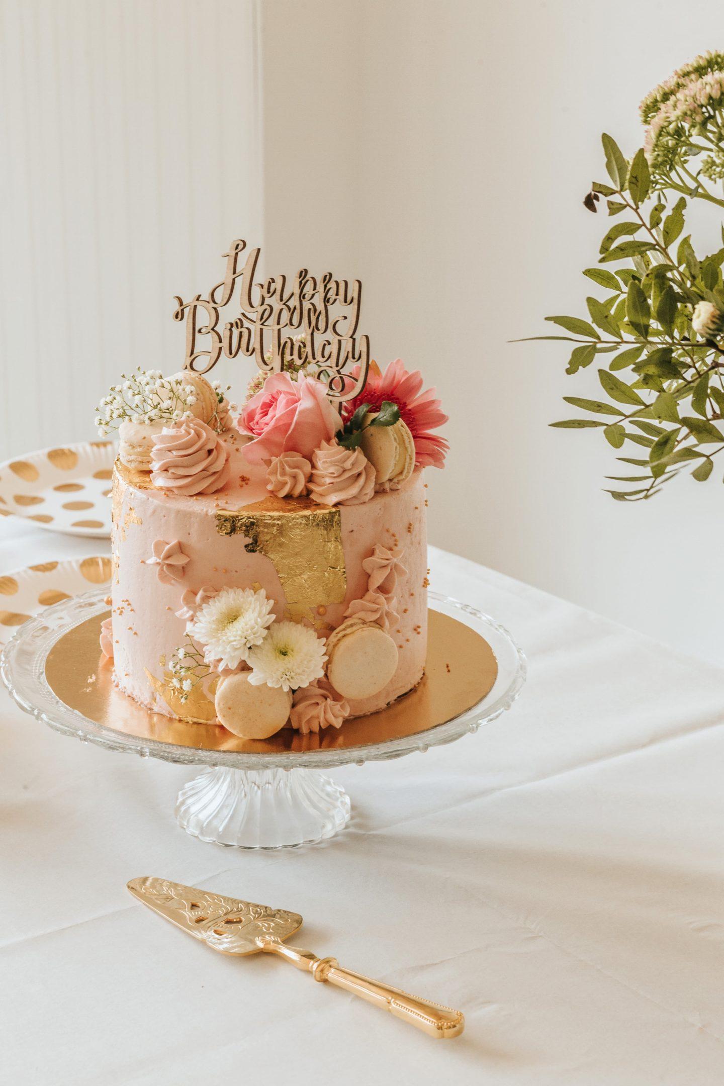 gâteau d'anniversaire réalisé par La crème des bordelaises, bordeaux, pâtisserie.