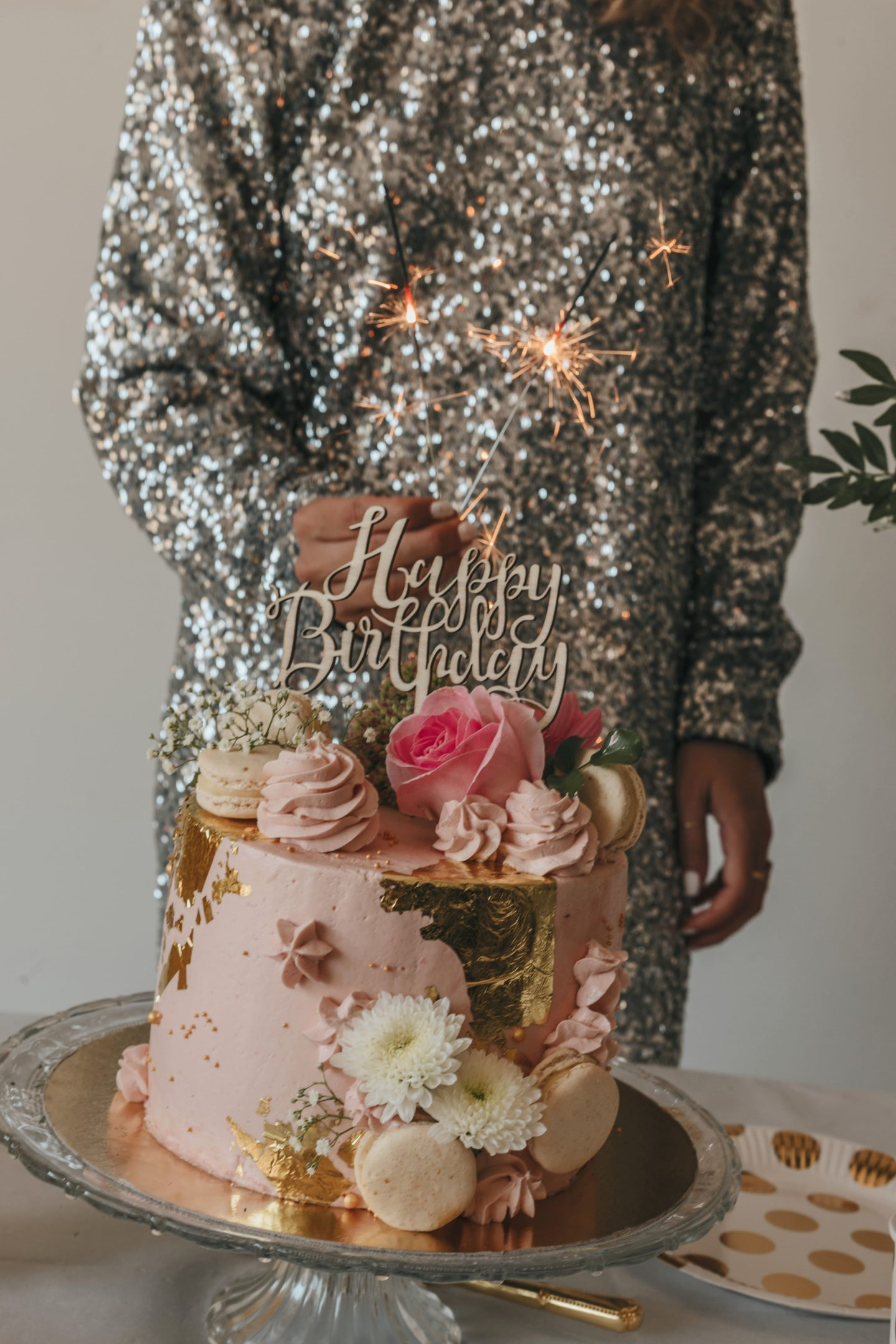 robe à sequins, gâteau rose, birthday cake, Pinterest, sweet.