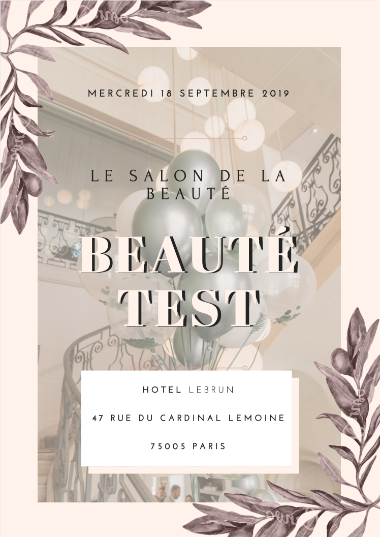 salon de la beauté, beauté test, paris