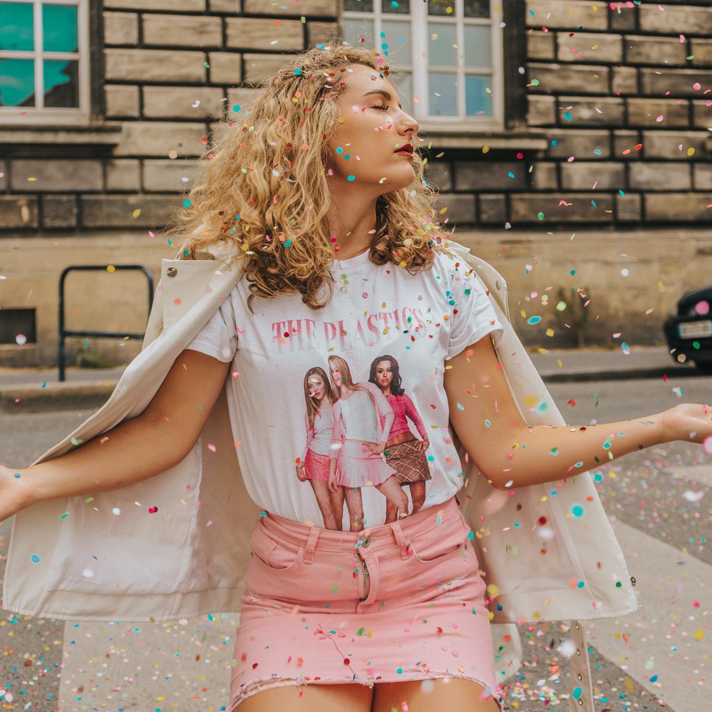 PrettyLittleThing, sélection, tee-shirt imprimé Lolita Malgré Moi.