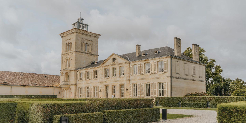 vue du Château Lagrange, saint-julien