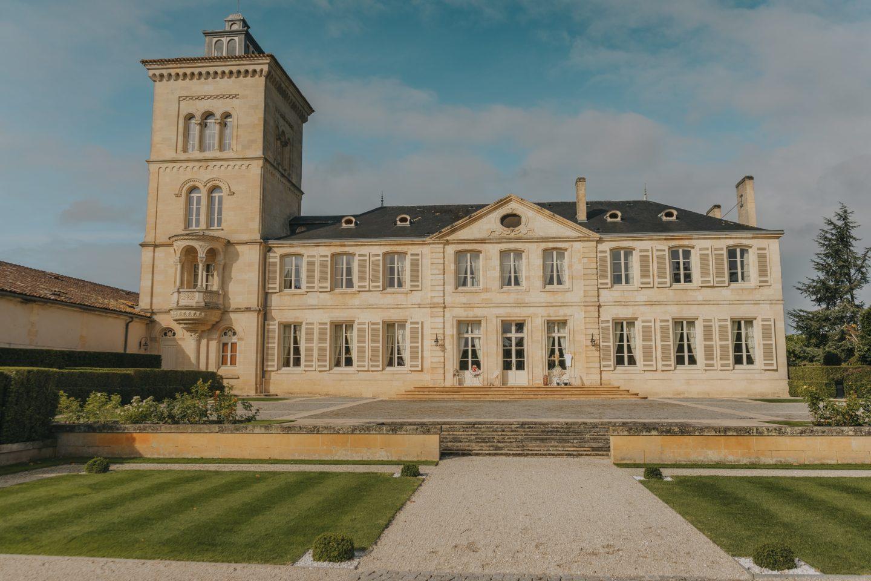 Château Lagrange, bâtisse, vue d'ensemble.