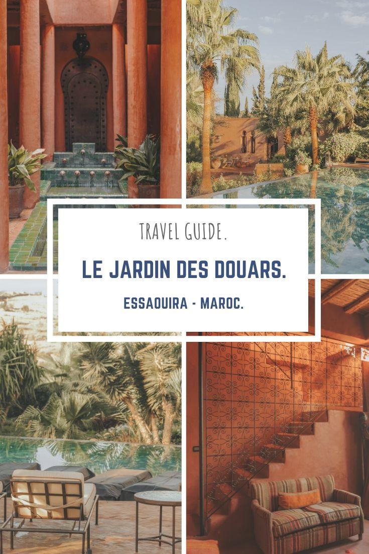 avis, hôtel, Essaouira, Maroc, jardin des douars.