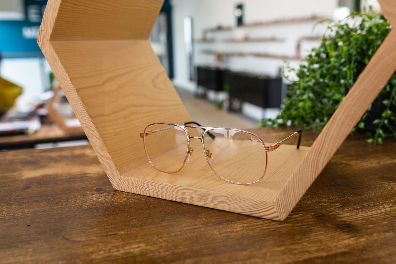vintage frames company, snatch rose gold, opticien, tropical optic shop