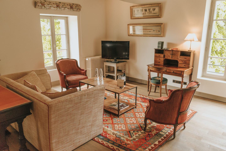 salon, Troplong Mondot, le clocher, chambre, hospitality