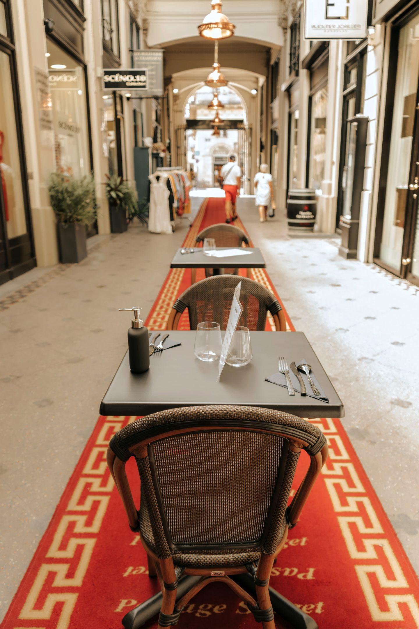 restaurant, caviar de neuvic, bordeaux, passage sarget