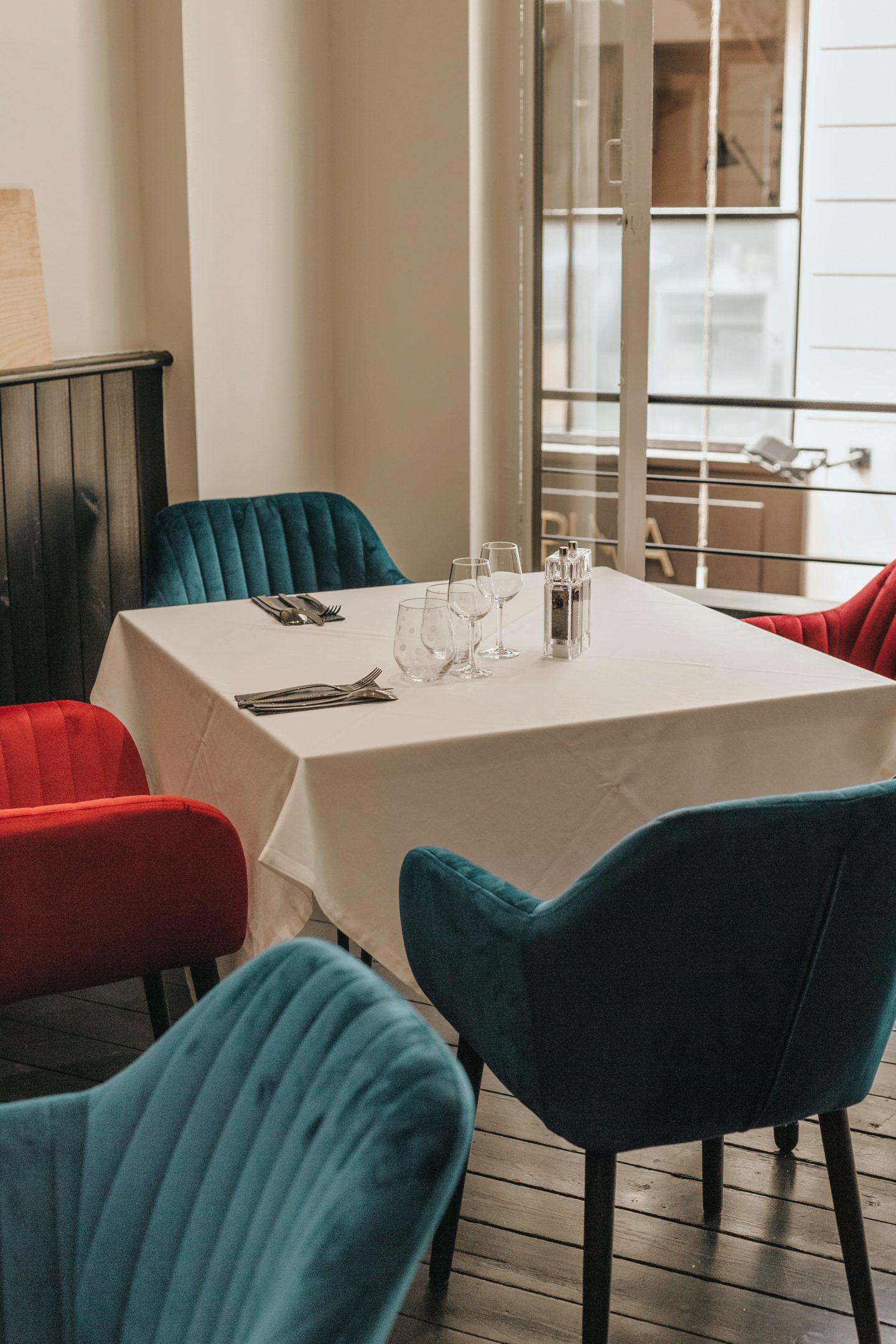 intérieur restaurant, sarget, caviar neuvic