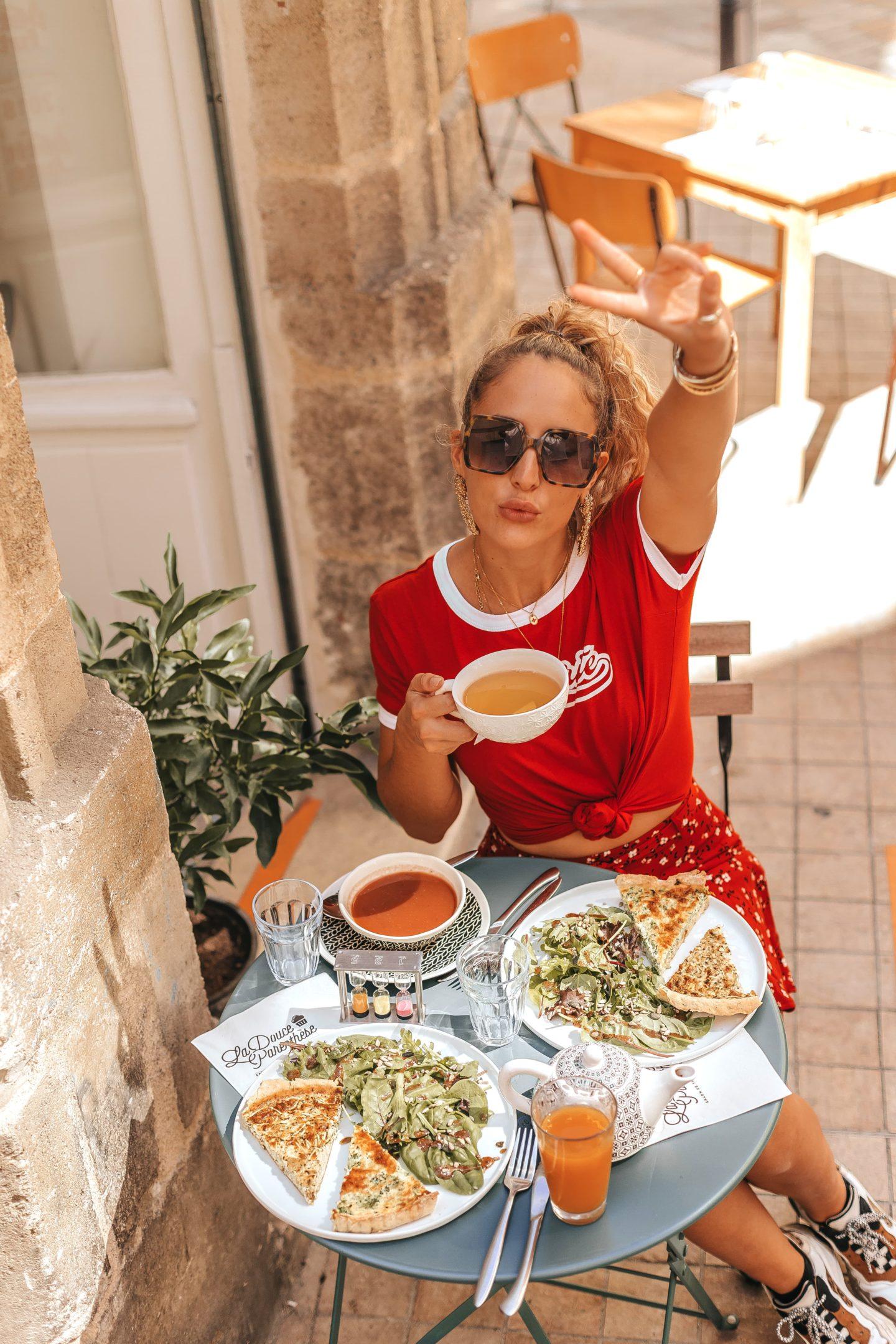 La douce parenthèse, restaurant, tarterie, salon de thé, bordeaux